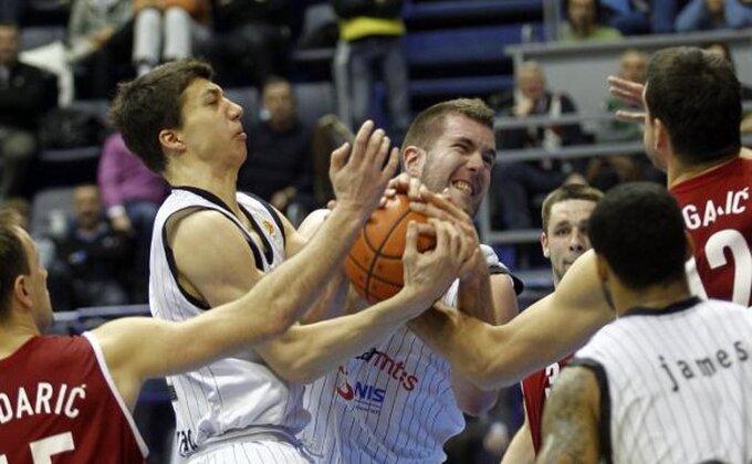 Ništa od trofeja - Partizan poražen od Cedevite