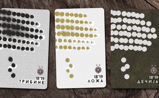 Partizan pustio u prodaju sezonske karte