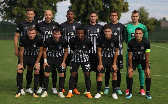 Promena plana - Partizan sa Slovencima umesto Žiline