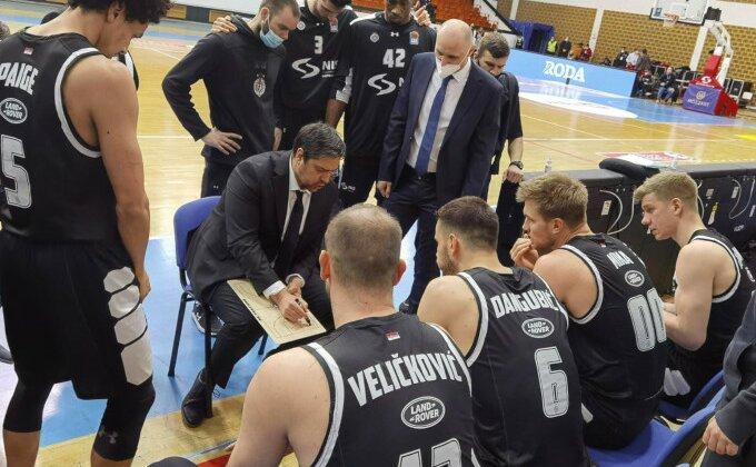 Određeno gde Partizan dočekuje Metropolitan u Evrokupu