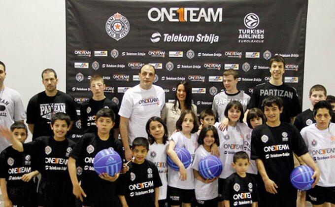 Partizan – 'Jedan tim', trening broj 1
