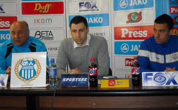 Sosa Babić zahteva angažovanu igru protiv Borčana