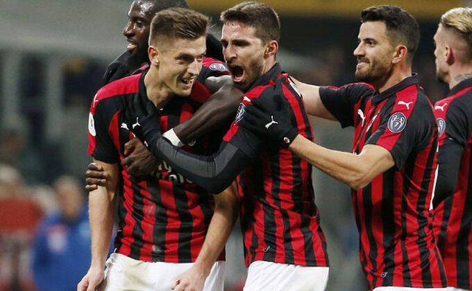 Serija A - Milanu poluvreme dovoljno za trijumf, Pjontek kao Birof!