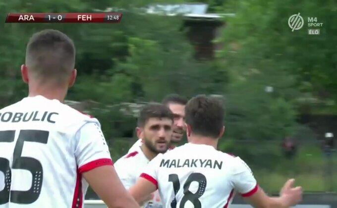 LK - Srbin se ponovio evrogolom i odveo Ararat preko Fehrevara!