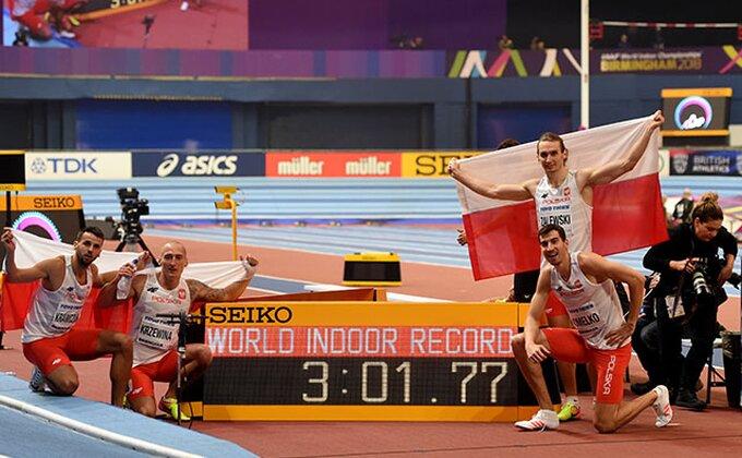 Poljaci rekordom do titule prvaka sveta u štafeti 4x400 metara