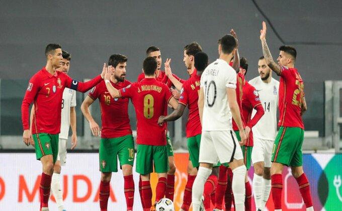 Portugalci jedva za Azerbejdžanom, kiksevi Hrvatske i Francuske