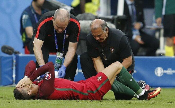 ŠOK! Ronaldo u suzama, za njega je finale završeno!