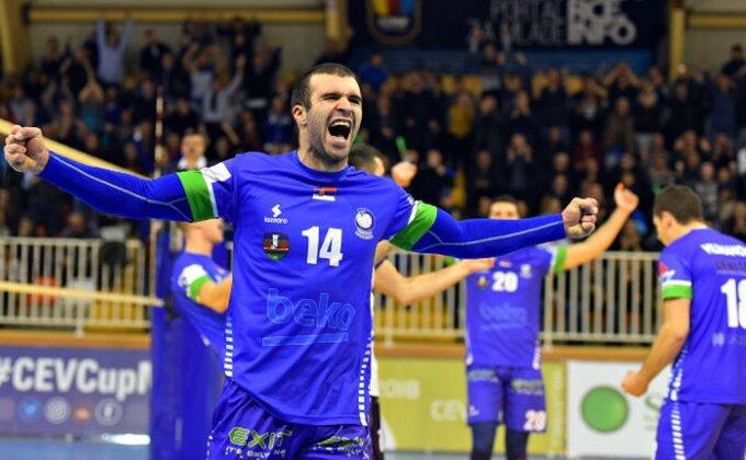 SL - Novi Pazar savladao Partizan bez izgubljenog seta