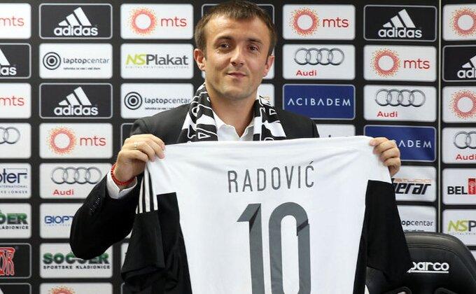 ''Desetka'' u pravim rukama - Mire Radović i zvanično u Partizanu!