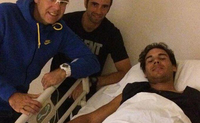 Nadalova poruka iz bolničke postelje: ''Hvala na podršci, dobro sam!''