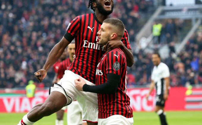 Poluvreme na ''Meaci'', Inter promašivao, tandem Ibra&Rebić pogađao!