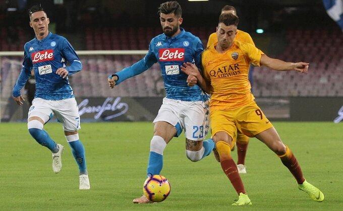 Roma bila na pragu pobede u Napulju, domaćin izvukao bod!
