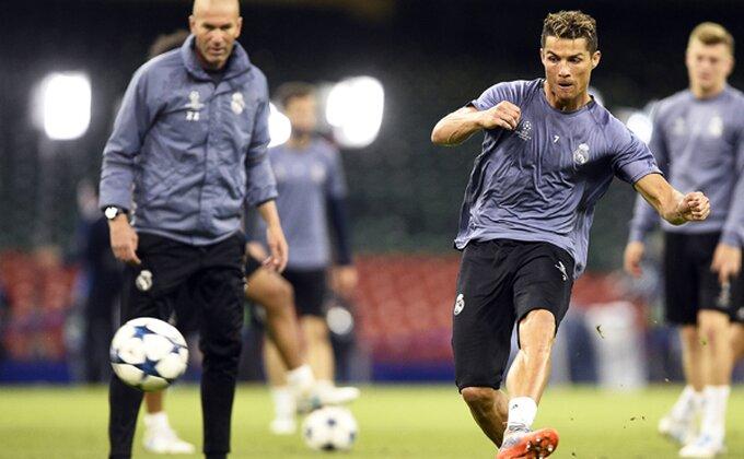 Ronaldo motivsan pred APOEL, Vaskez i Ljorente će dobro pamtiti ovaj trening