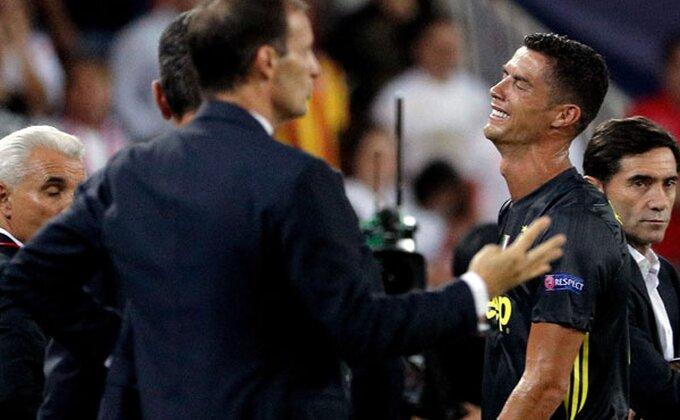 Ronaldo iz izolacije - u izolaciju