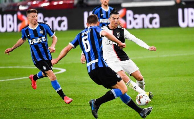 Derbi Italije (SASTAVI) - Konte vs Pirlo, ko slavi večeras?