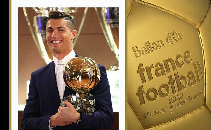 Jednostavno najbolji - Ronaldo osvojio ''Zlatnu loptu''!