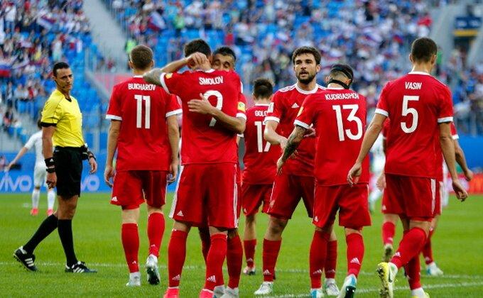 Rusi startovali pobedom na Kupu konfederacija