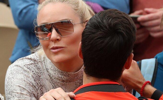 Jedna od najboljih i najlepših sportistkinja pomno prati Novakove igre!