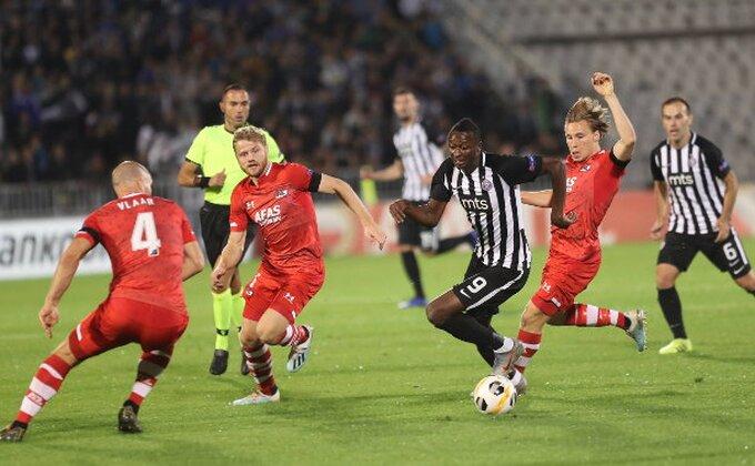 AZ imao ČETIRI šuta u okvir gola u dve utakmice sa Partizanom...
