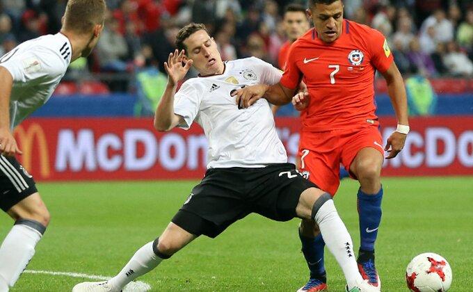 I Nemci i Čileanci zadovoljni remijem, Sančez ušao u istoriju