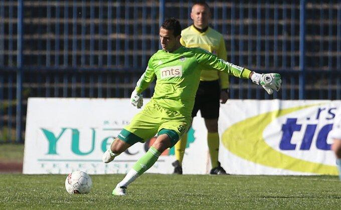Bivši golman Partizana prešao u Radnički