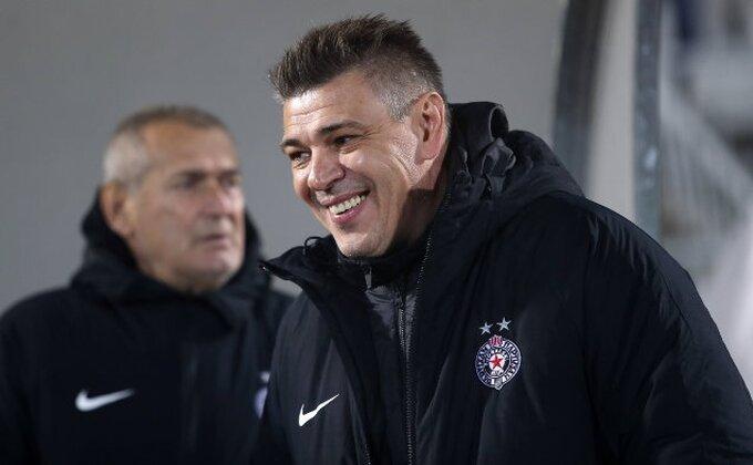Partizan - Milošević servirao iznenađenje, stigao novi napadač! Još kad bi se i zadržao...