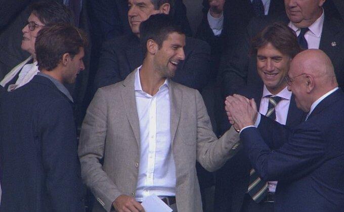 Teniski kralj gleda 'Kraljevski klub'!