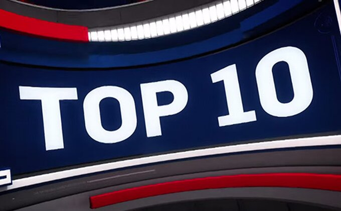 Top 10 - Bostonov ruki pokazao šta ume