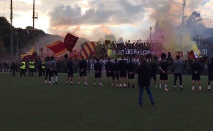 Romini navijači napravili fantastičnu atmosferu na treningu!