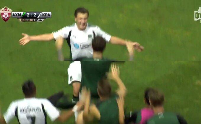 Ovako je 18-godišnjak doneo pobedu Krasnodaru