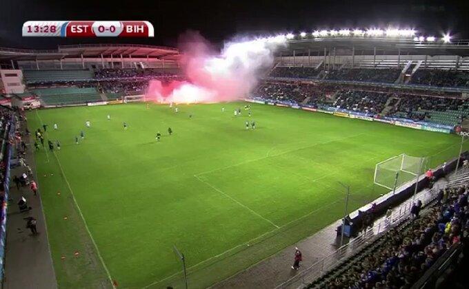 Kad teren gori u meču Estonija-BiH!