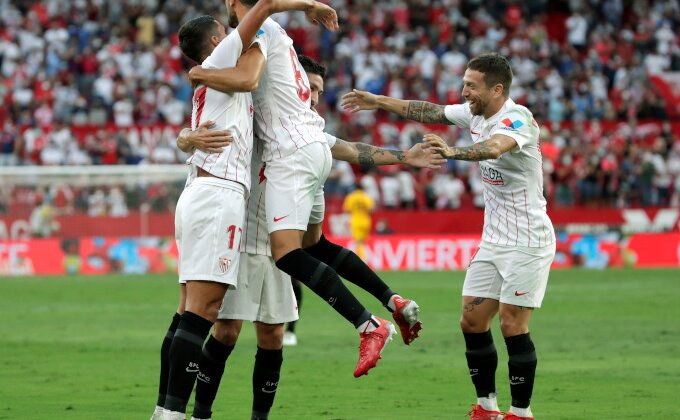 """Primera - Sevilji dovoljno poluvreme da rastera """"slepe miševe"""", treća sreća za De Tomasa!"""