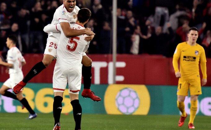 Kup kralja - Sevilja izbacila Atletiko Madrid, Grizmanov gol sezone!