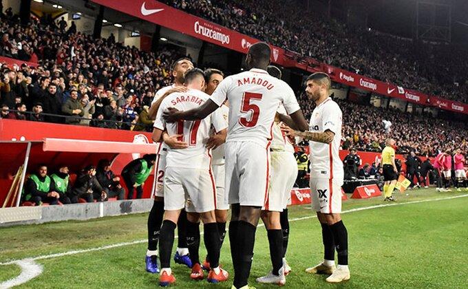 Primera - Sevilja za 45 minuta spakovala pet golova Levanteu
