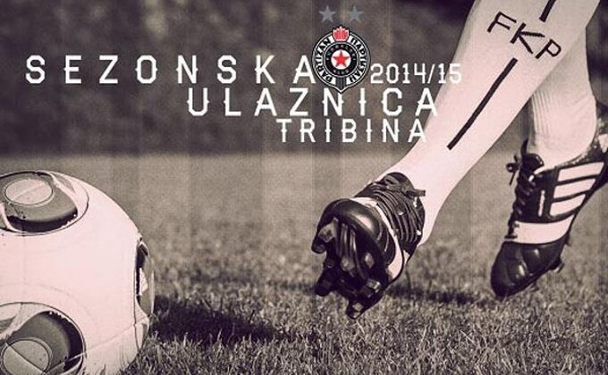 FK Partizan - Od petka sezonske karte