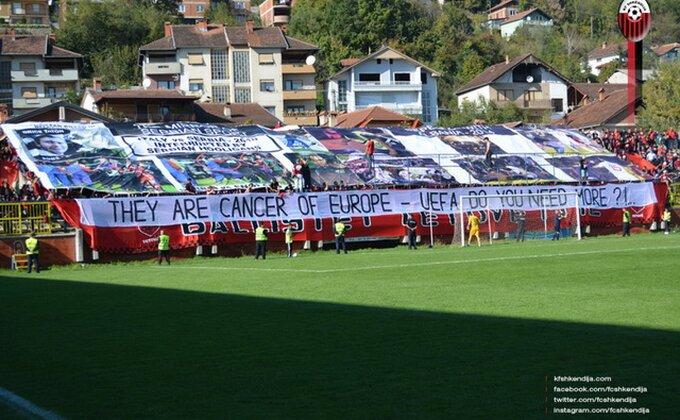 Nove sramne parole albanskih ''navijača''!