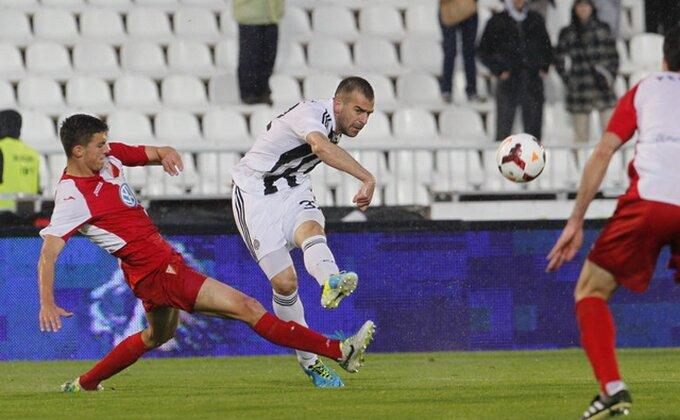 Voša odnela bod, Partizan sve dalje od titule!