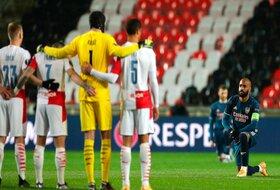 Momenat večeri u Ligi Evrope - Rasizam podelio Slaviju i Arsenal