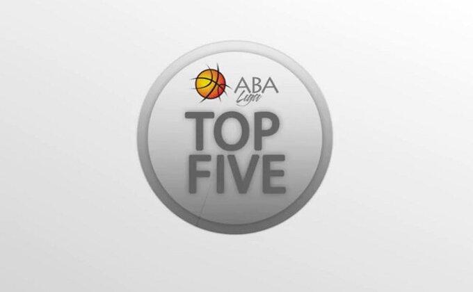 ABA - TOP 5 poteza iz Beograda i Zagreba