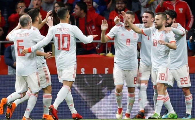 Protiv ovakve Španije neće pomoći ni dva Mesija, strašna Belgija, Englezi opet tanki!