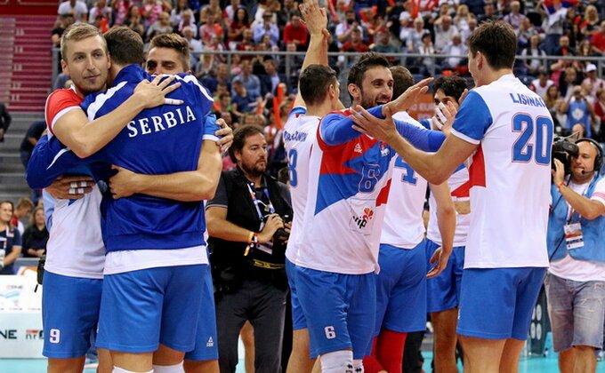 Odbojkaši Srbije: ''Zaslužili smo medalju''
