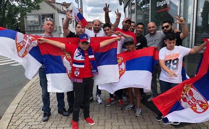 ''Orlovi'' će imati veliku podršku, vijore se srpske zastave!