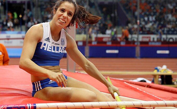 Grkinja Stefanidi osvojila zlato u skoku s motkom