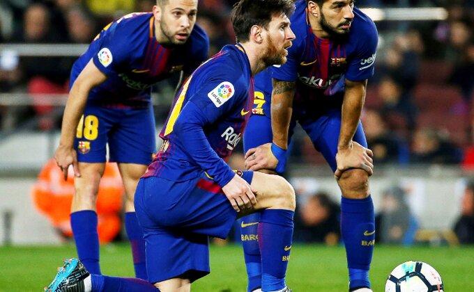 Alba i Mesi mogu i bez gledanja, Suarez dotukao Sevilju