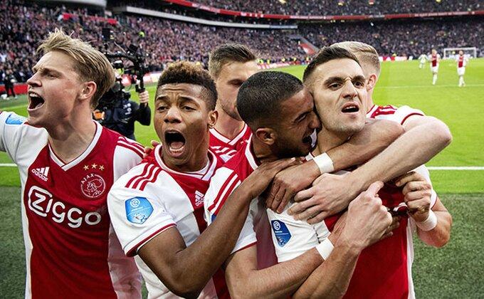 Ajaks brojao do šest i obezbedio Ligu šampiona, Tadić juri De Jonga!