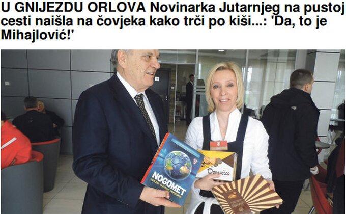 Pošalice hrvatskih novinara - Toletu poklonili 'Domaćicu', Mihi nudili prevoz...