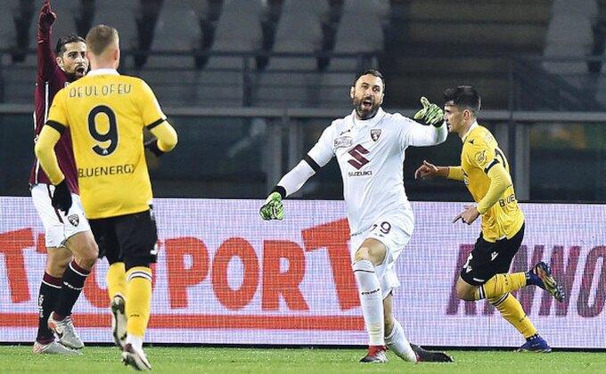 Torino na bod od dna, Udineze slavio u gostima