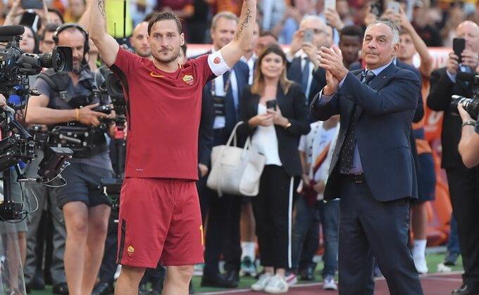 Kakav tužan kraj, Roma odbrusila Totiju!