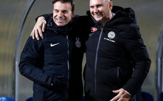 Stanojević skroman, Sabo pohvalio crno-bele