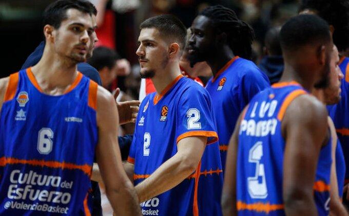 ACB: Valensija serijom 20:5 do pobede, Todorović solidan u poraženom sastavu, Marinković bez minuta